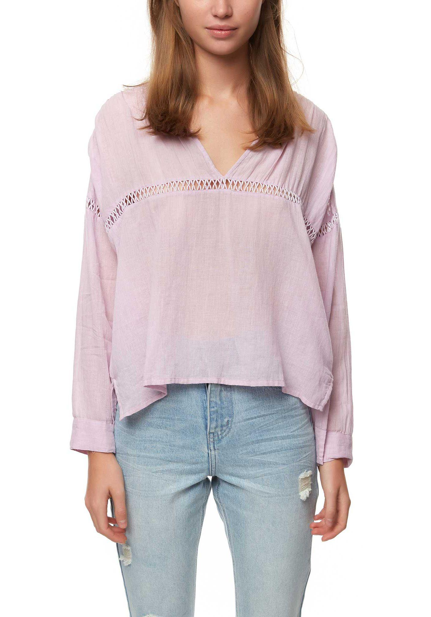 O'Neill Women's Seaside Long Sleeve Woven Shirt
