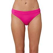 O'Neill Women's Salt Water Solids Banded Swimsuit Bottoms