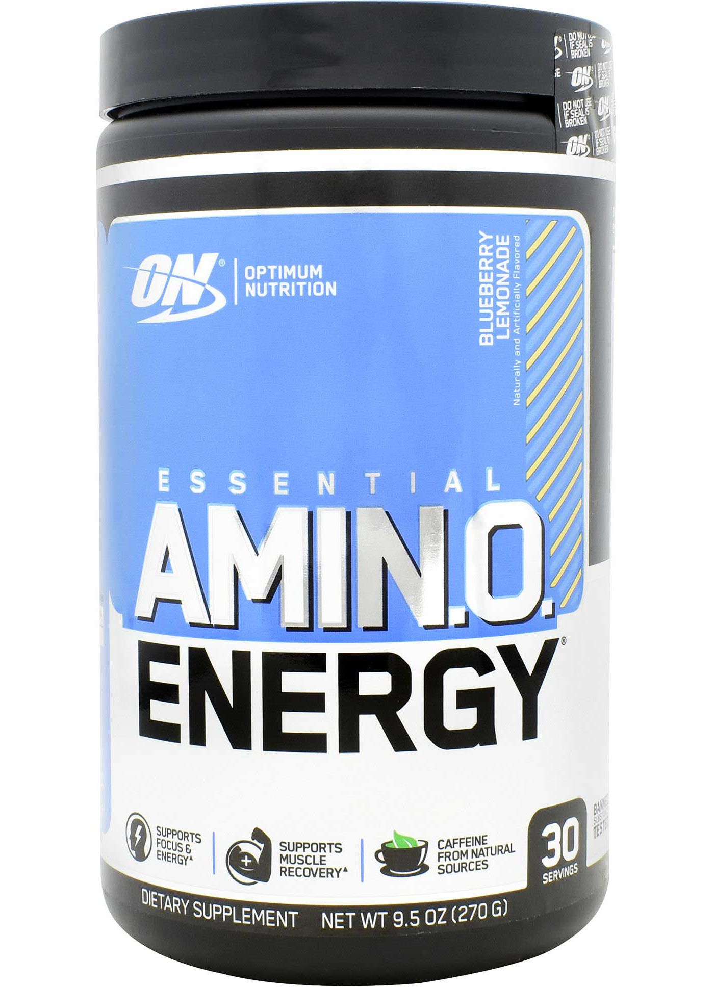 Optimum Nutrition Essential Amino Energy Blueberry Lemonade 30 Servings