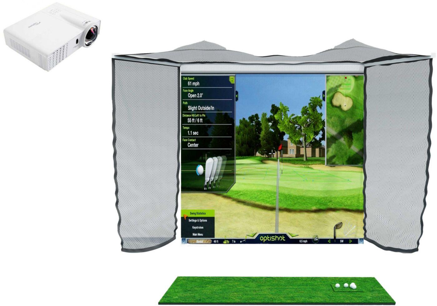 OptiShot Golf In A Box Pro Golf Simulation Kit