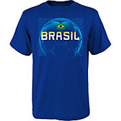Outerstuff Youth Brazil Penalty Kick Blue T-Shirt