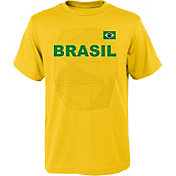 Outerstuff Youth Brazil One Team Yellow T-Shirt