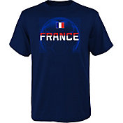 Outerstuff Youth France Penalty Kick Navy T-Shirt