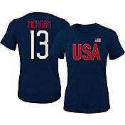 Outerstuff Men's USA Soccer Alex Morgan #13 Player Navy T-Shirt