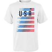 Outerstuff Men's USA Soccer One Team White T-Shirt