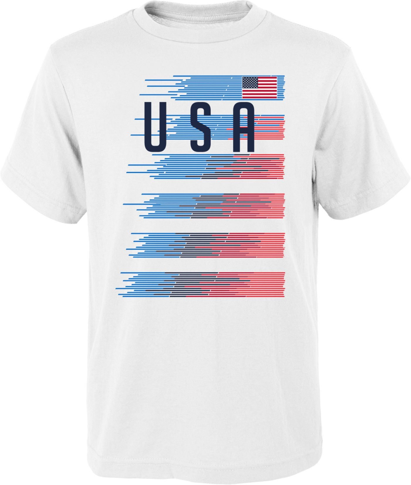 Outerstuff Men's USA Soccer One Team White T-Shirt