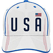 Outerstuff Youth USA Soccer Printed White Adjustable Hat