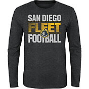 Gen2 Youth San Diego Fleet Hot Streak Charcoal Long Sleeve Shirt