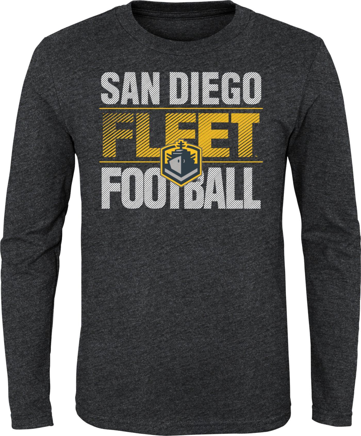 Gen2 Youth San Diego Fleet Hot Streak Charcoal Long Sleeve Shirt