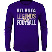 Gen2 Youth Atlanta Legends Hot Streak Purple Long Sleeve Shirt