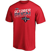 "Majestic Youth St. Louis Cardinals 2019 NL Central Division Champions ""October Reign"" T-Shirt"