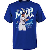 Majestic Youth Boys' Los Angeles Dodgers Blue 2019 Rookie of the Year T-Shirt