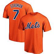 Majestic Youth New York Mets Marcus Stroman #7 Orange T-Shirt