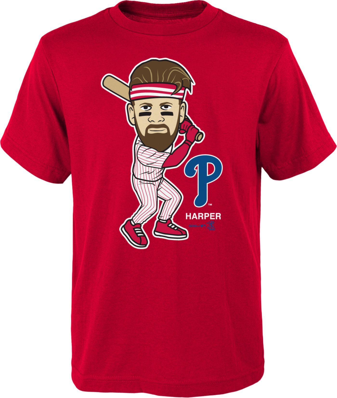 Gen2 Youth Philadelphia Phillies Bryce Harper Geek T-Shirt