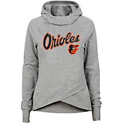 Gen2 Youth Girls' Baltimore Orioles Funnel Neck Pullover Hoodie
