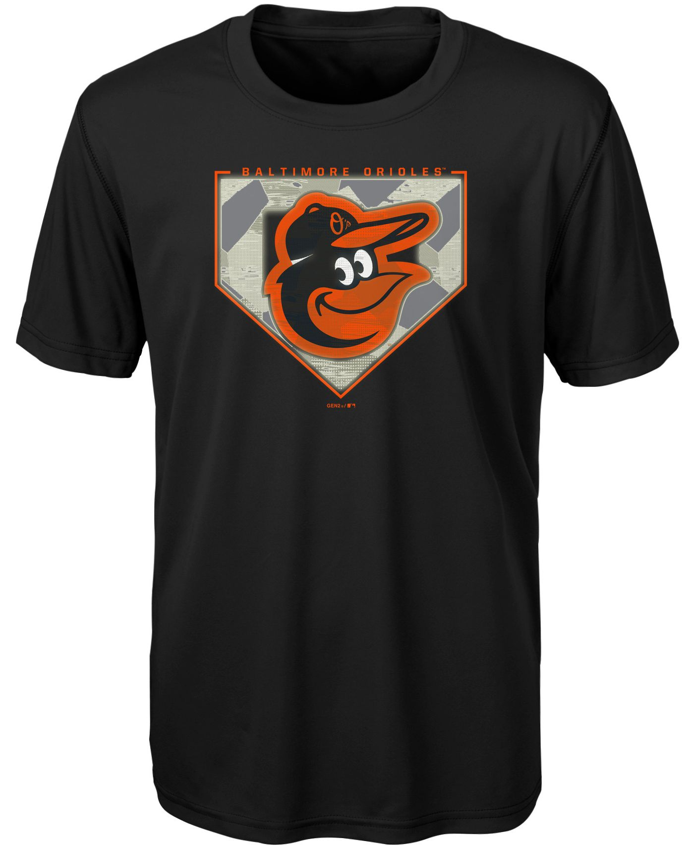 Gen2 Youth Baltimore Orioles Starting Line-Up Dri-Tek T-Shirt