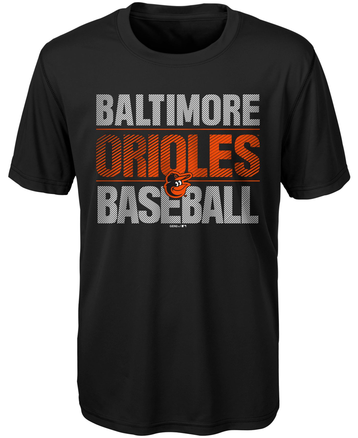 Gen2 Youth Baltimore Orioles Winning Streak Dri-Tek T-Shirt