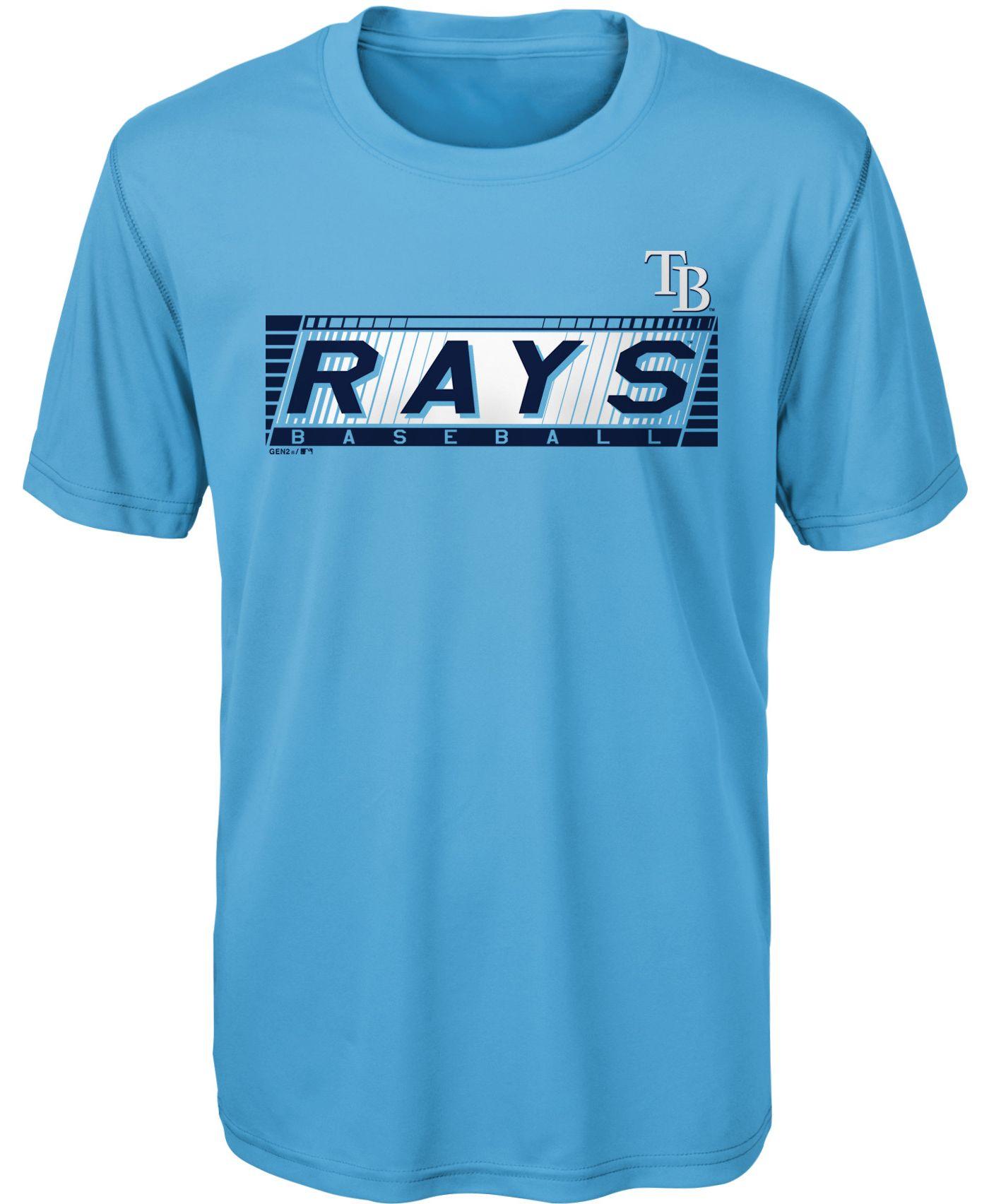 Gen2 Youth Tampa Bay Rays Switch Hitter Dri-Tek T-Shirt