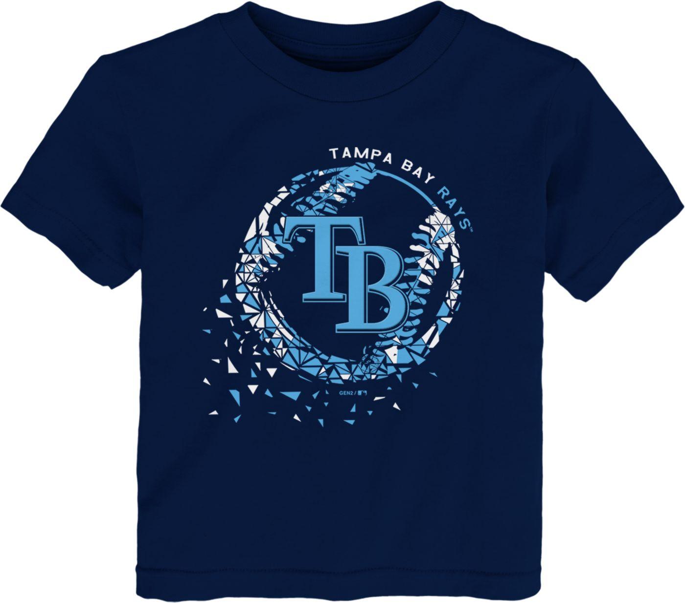 Gen2 Toddler Tampa Bay Rays Shatter Ball T-Shirt