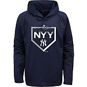 Majestic Youth New York Yankees 2019 MLB Postseason On-Field Therma Base Hoodie