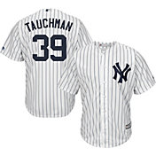 Majestic Youth Replica New York Yankees Mike Tauchman #39 Cool Base Home White Jersey