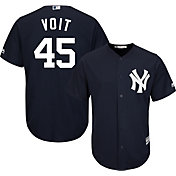 Youth Replica New York Yankees Luke Voit #45 Alternate Navy Jersey