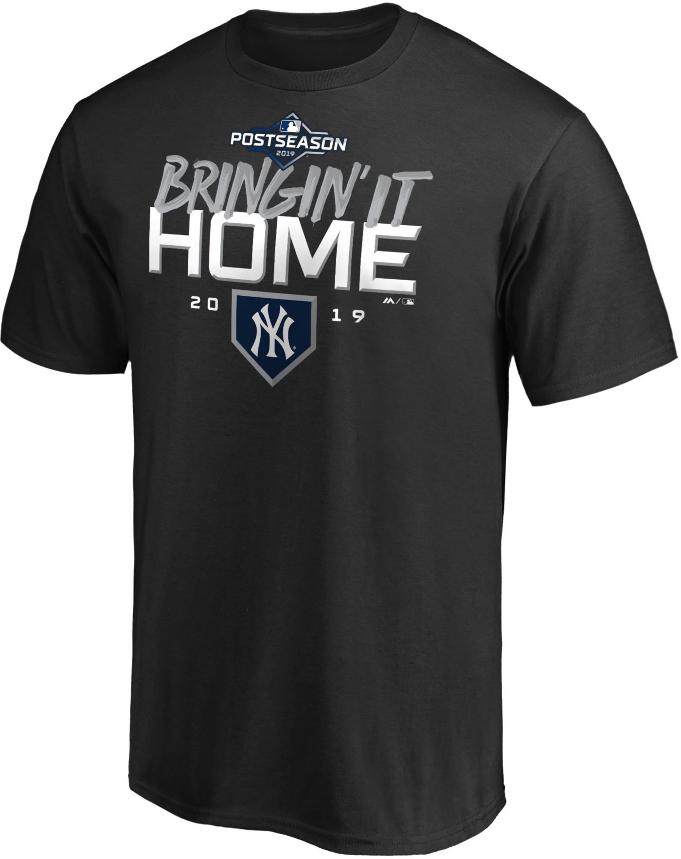"""Majestic Youth New York Yankees 2019 LDS Clincher """"Bringin' It Home"""" T-Shirt"""