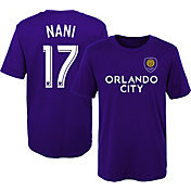 MLS Youth Orlando City Nani #17 Purple Player T-Shirt