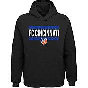 MLS Youth FC Cincinnati Evolve Black Pullover Hoodie