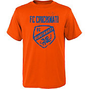 MLS Youth FC Cincinnati Rush Orange T-Shirt