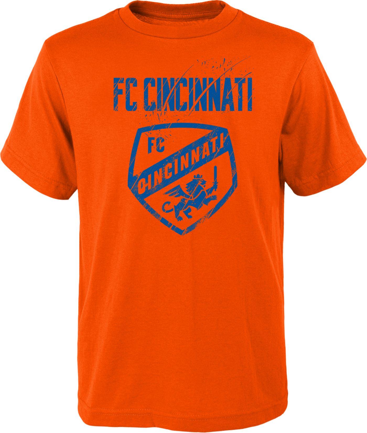 MLS Youth FC Cincinnati Rush Orange T-Shirt