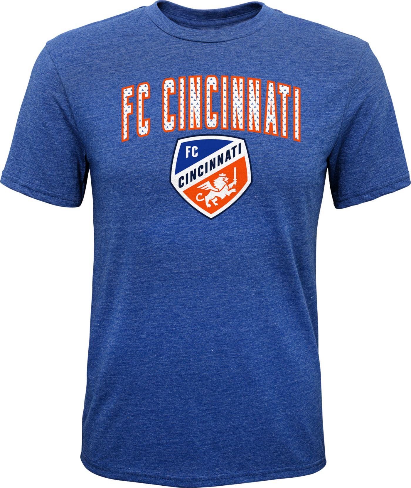 MLS Youth FC Cincinnati Rival Royal T-Shirt