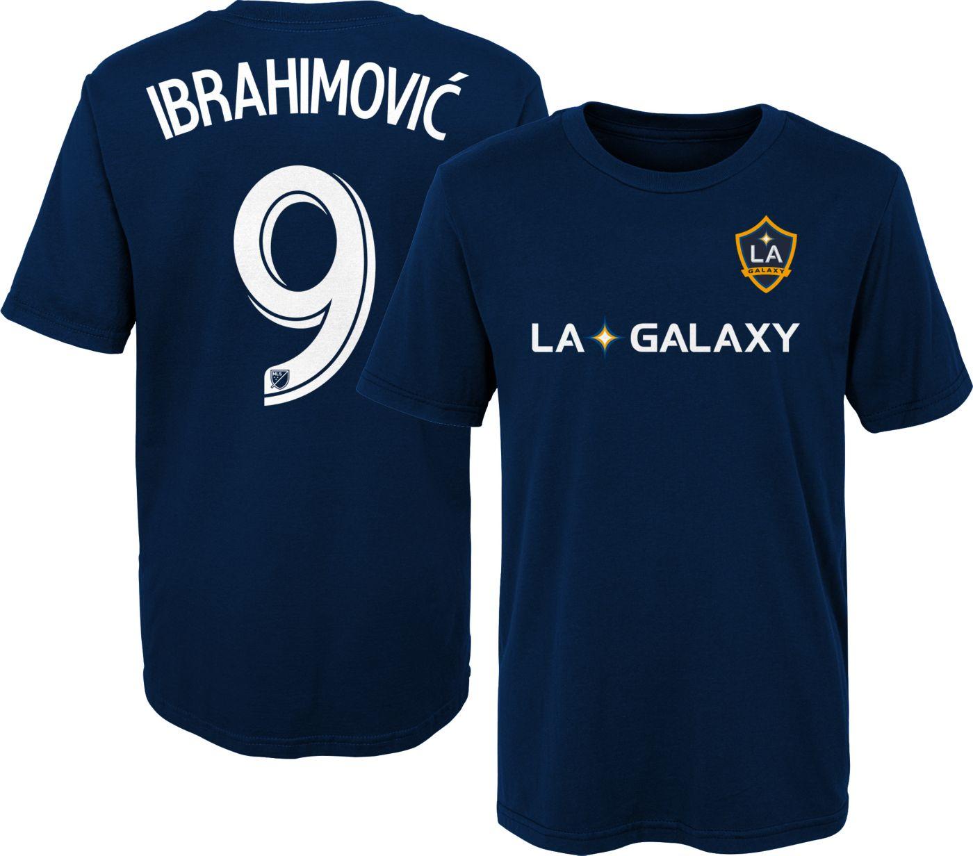 MLS Youth Los Angeles FC Zlatan Ibrahimovic #9 Navy Player T-Shirt