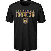 MLS Youth Los Angeles FC Kick Turf Black T-Shirt