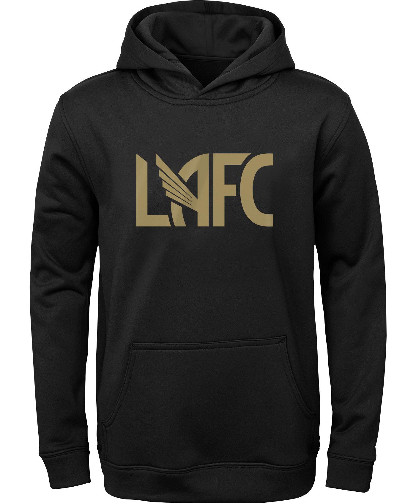 MLS Youth Los Angeles FC Pacesetter Black Pullover Hoodie