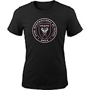 MLS Youth Inter Miami CF Primary Logo Black T-Shirt