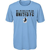 MLS Youth Minnesota United FC Kick Turf Blue T-Shirt