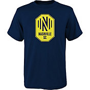 MLS Youth Nashville SC Primary Logo Grey T-Shirt