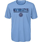 MLS Youth New York City FC Kick Turf Blue T-Shirt