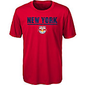 MLS Youth New York Red Bulls Kick Turf Red T-Shirt