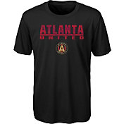 MLS Youth Atlanta United Kick Turf Black T-Shirt