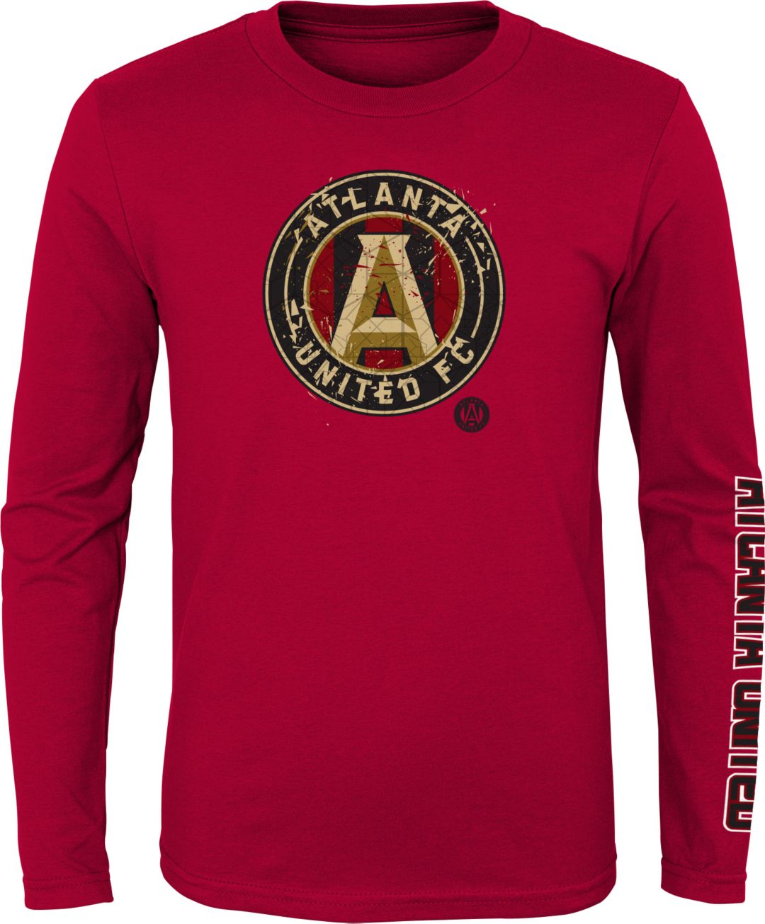 the best attitude 193d5 46fb6 MLS Youth Atlanta United Decon Red Long Sleeve Shirt