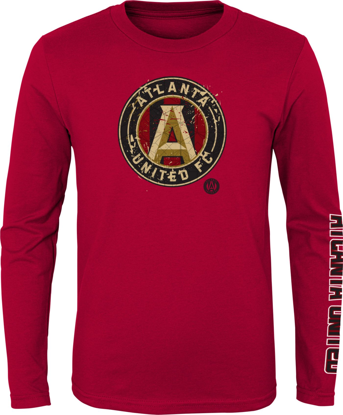 MLS Youth Atlanta United Decon Red Long Sleeve Shirt