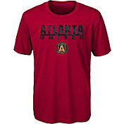 MLS Youth Atlanta United Kick Turf Red T-Shirt