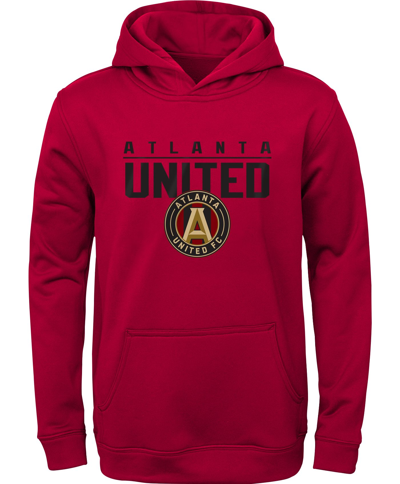 MLS Youth Atlanta United Pacesetter Red Pullover Hoodie