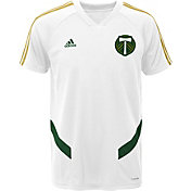 adidas Youth Portland Timbers White Training Top