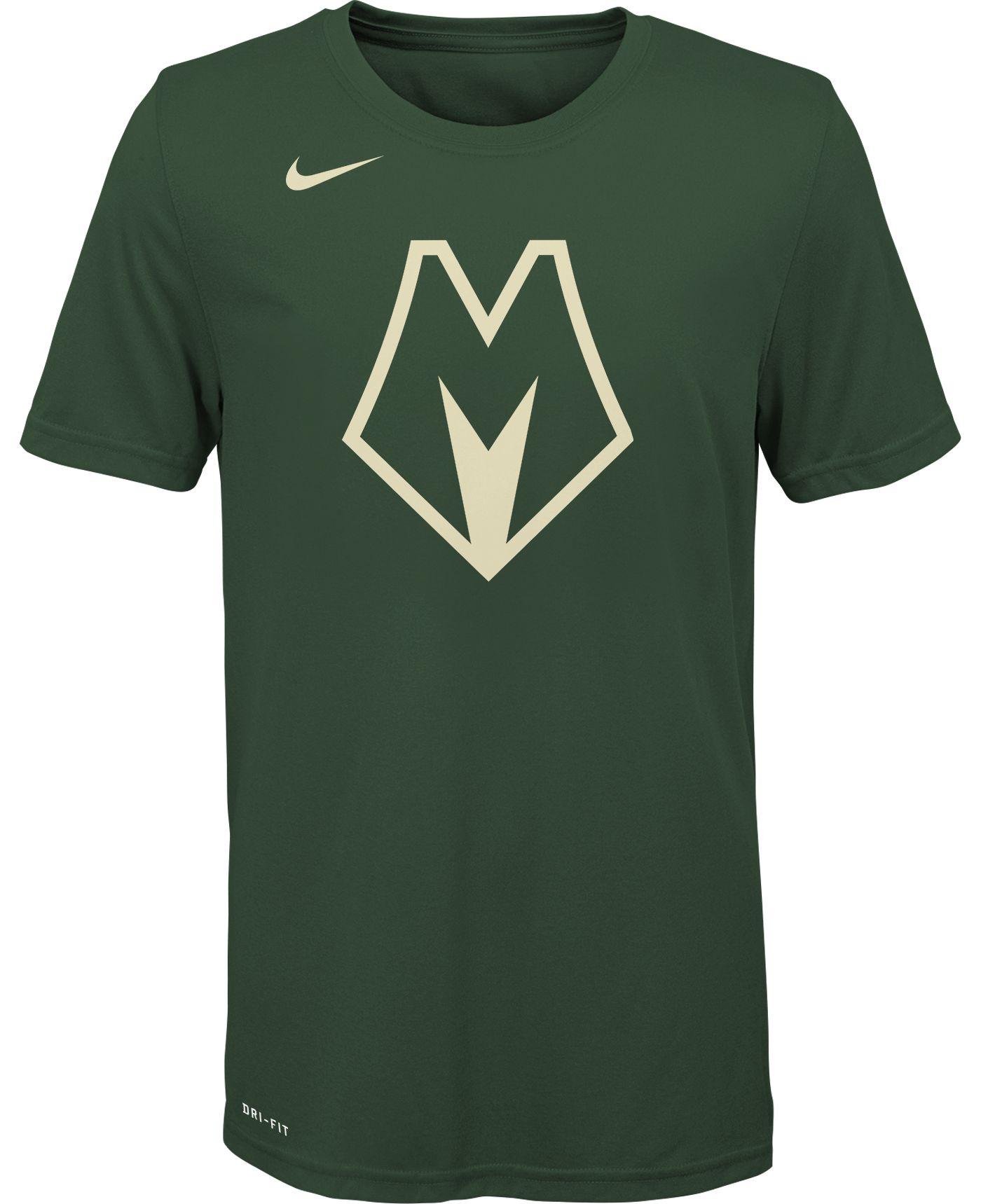 Nike Youth Milwaukee Bucks Dri-FIT Green City Edition T-Shirt