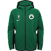 Nike Youth Boston Celtics On-Court Therma Flex Showtime Full-Zip Hoodie
