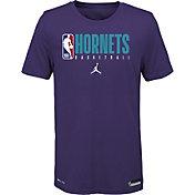Jordan Youth Charlotte Hornets Dri-FIT Practice T-Shirt