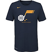 Nike Youth Utah Jazz Dri-FIT Split Logo T-Shirt